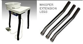 Shimpo VL Whisper Leg Extensions