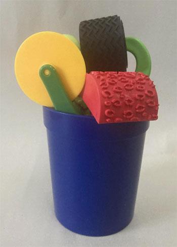 Small Texture Bucket