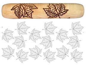 Socwell SD2071 Maple Leaves Handroller