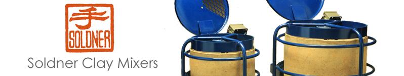 Soldner Clay Mixers