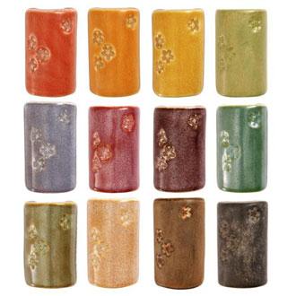 1400 Shino Series (cone 5/6) Sample Pack