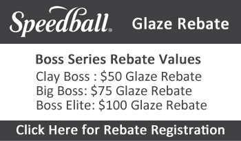 Speedball Boss Series Glaze Rebate