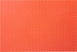 Red Fish Scales Rubber Texture Mat