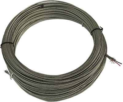 High Temperature Thermocouple Wire - Metal Cased