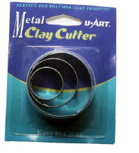 Tin Clay Cutter Round CC03R