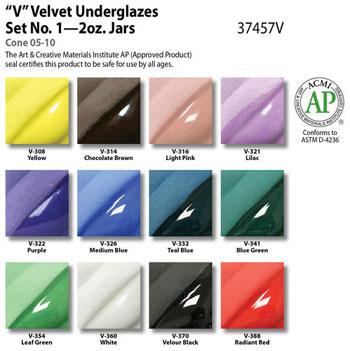 Velvet Underglaze Set #1