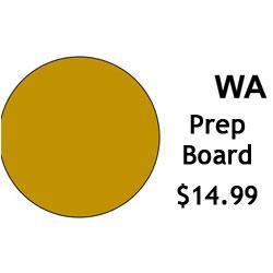 G.R. Pottery Forms WA Prep Board