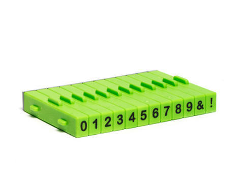 Xiem Attachable Numbers Stamp Set 12pcs