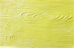 Yellow Wood Rubber Texture Mat
