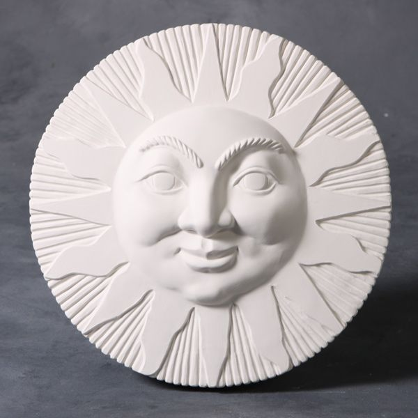 Mayco Mold 4144 Sun Face Plaque