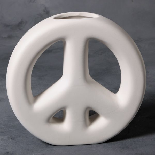 Mayco Mold CD1245 Peace Sign Vase