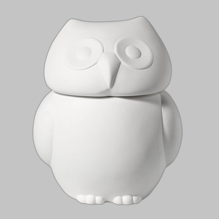Mayco Mold CD1332 Owl Cookie Jar