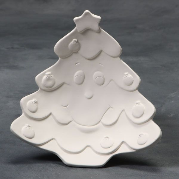Mayco Mold CD793 Merry Christmas Tree Dish