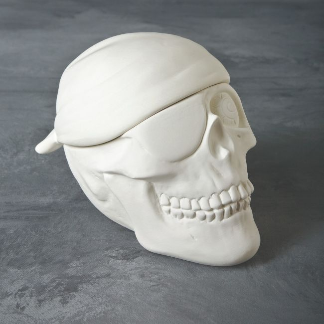 Mayco Mold CD945 Pirate Skull Box